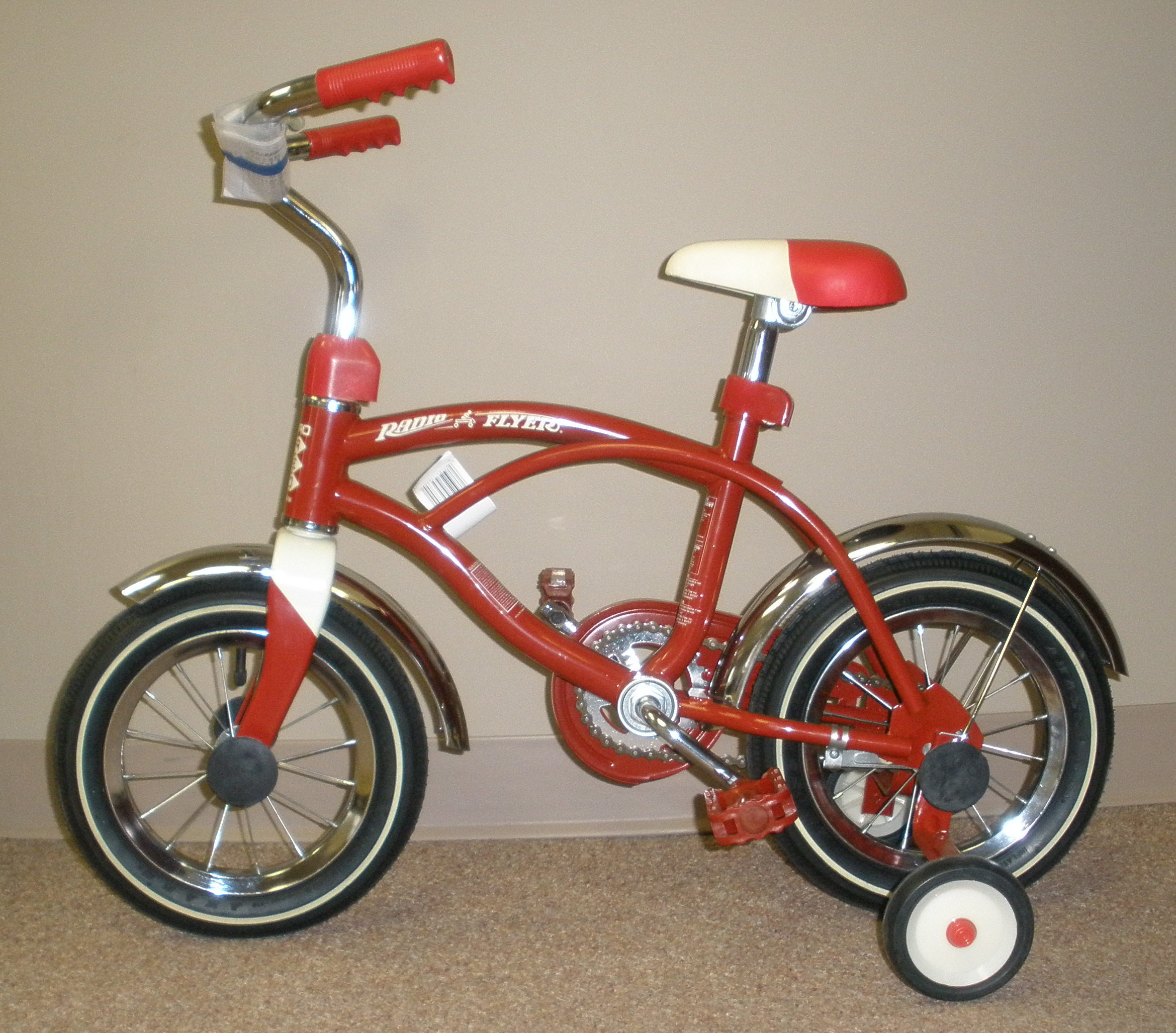 Fairbury Fire Radio Flyer Bicycle cropped